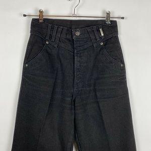 Vintage Black Western Rockies High Rise Jeans